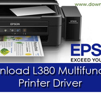 PRINTER EPSON L380 All in One Multifunction Inkjet ( Print Scan Copy )