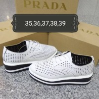 Sepatu Prada sneaker wedges YC-A017-2