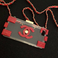Jelly case Channel Lego Blink Swarovski Iphone 5 5S 5SE Samsung Note 3