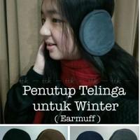 PENUTUP TELINGA / EARMURF / MUSIM DINGIN / WINTER / UNISEX