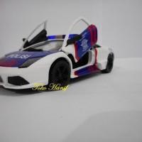 Jual Produk Diecast keren Diecast Miniatur Mobil Polisi PJR Lamborghini Murah