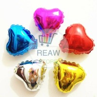 Balon Foil Love / Hati Super Mini (10cm)