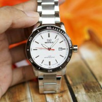 Jam tangan mirage original For Men GD1566 - Silver