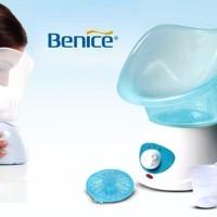 Benice Facial Steam Alat Spa Sauna Wajah Steamer Relaksasi Uap Panas