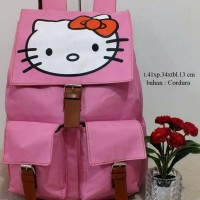 Jual VERY RECOMENDED!!..tas hello Kitty | tas ransel wanita | tas sekolah Murah