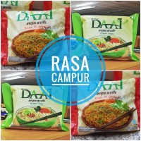Mie Instant DAAI Rasa Soto & Goreng Vegan boleh Campur / DA AI noodle