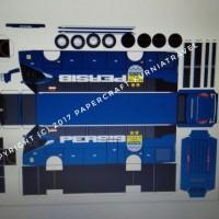 Jual Pola Papercraft Bus Persib Murah