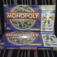 Jual Monopoly 5 in 1 Monopoli Halma Ludo Catur Ular Tangga Murah