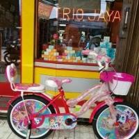 Sepeda Anak Princess Michel Frozen 18