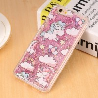 CASE I PHONE 6 6S UNICORN GLITTER
