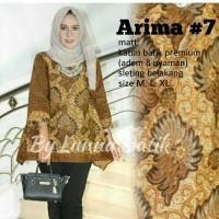 Baju Atasan Wanita Muslim Blouse Batik Arima #7
