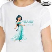 Kaos Anak Princess Dysney Jasmine / Kaos Putri Jasmine
