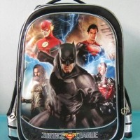 Tas Sekolah Ransel Backpack SD Justice League 2