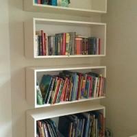 Jual frame ambalan floating shelves shelf rak melayang rak buku Murah
