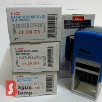 Stempel Otomatis PAID, LUNAS, RECEIVED Shiny S-401, S-401D, S-402