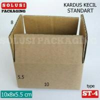 KARDUS KECIL 10X8X5.5/KARDUS POLOS/BOX/KARDUS HP/KOTAK SOUVENIR KADO