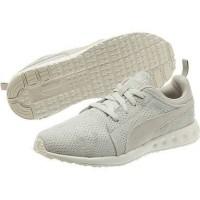 NEW & ORIGINAL PUMA CARSON CAMO MESH Sepatu Sneakers Pria - white