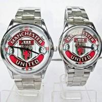 Jual ( HARGA SEPASANG ) Jam Tangan Couple Manchester United ( Jam Custom dw Murah