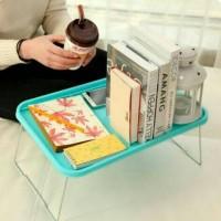 Meja Lipat Portable Meja Laptop Plastik Meja Portable Piknik Travel