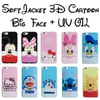 Jual SOFT CASE BIG FACE DISNEY UV OIL Murah