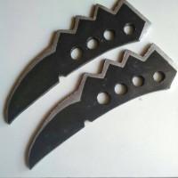 mainan trench knife asuma (naruto)