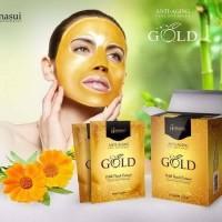 Masker Gold Hanasui Per Sachet Eceran