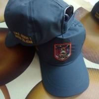 Jual topi sekolah logo Murah
