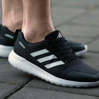 Sepatu Pria Adidas Sport Olahraga Running Sneakers Lari GO Original