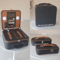 harga Koper Make Up Beauty Case Kotak Rias Tas Kosmetik Makeup Box Elips Tokopedia.com