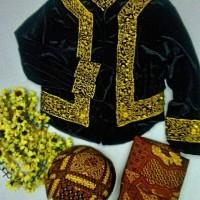 Jual Baju Adat Anak Kostum Jawa Setelan Beskap Bludru Murah