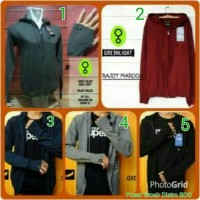 jaket / jacket / sweater rajut ariel noah greenlight / green light