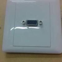 faceplate VGA/faceplate + vga