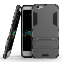 Hard Soft Case Casing HP Oppo F1s A59 Armor Stand Silikon Hardcase 3D