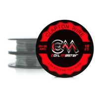 Coil Master Wire Clapton 26+30GA 10 Feet [3.1 Meter] Kawat Vape Vapor