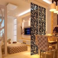 Dekorasi penyekat ruang vintage bahan PVC (1set isi 4pcs 1warna