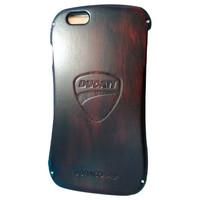 Jual Draco Ducati Aluminium Wood Iphone 6 - Hitam Murah