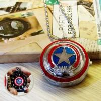 Harga kalung jam superheroes shield captain america kado ulang tahun | antitipu.com
