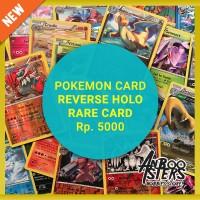 Jual PROMO Kartu Pokemon Reverse Hologram Rare Original Murah