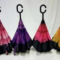 Payung Kazbrella Generasi 2nd Motif Bunga (FREE BUBBLE PACK)