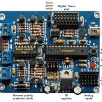 KR03015 Arduino MEGA8 w/Driver Motor