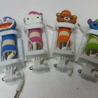 Jual Tongsis Karakter Kabel Super Mini ( Dengan Holder Lipat Murah Murah