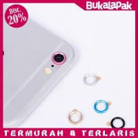 Jual Touch Pad Home Button Ring Multi Color for iPhone Ring Kamera Iphone Murah