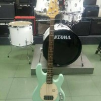 Bass Sterling by Musicman RAY34 Candy Apple Mint Green Made in Indo