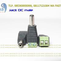 Konektor Jack Power CCTV DC Male