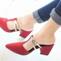High Heels Zara Clasic Red