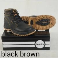 Jual safety boot by sportex sepatu safety pria termurah from bandung Murah