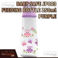 Babysafe Jp 003 Botol Susu Anak Bayi 250ml Ungu Burung Bird