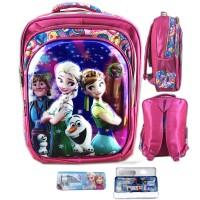 Tas Ransel Sekolah Anak SD Frozen Fever And Friends 5D 4 Kntng S