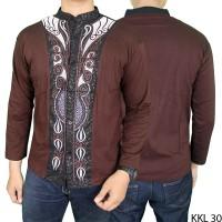 Jual  Baju Koko Fashion Lengan Panjang Katun C KODE FF325 Murah