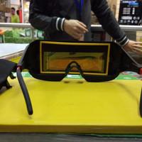 kacamata pria safety teknisi las otomatis - kacamata pria safety tekni